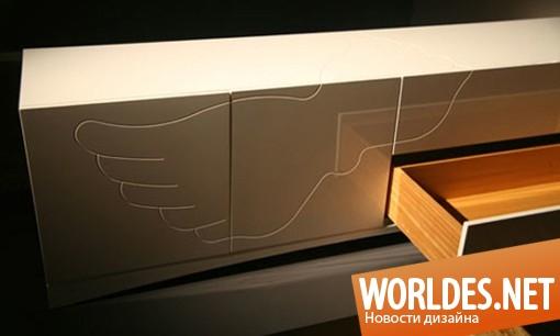 дизайн мебели, дизайн комода, комод, красивый комод, современный комод, минималистский комод, комод в минималистском стиле