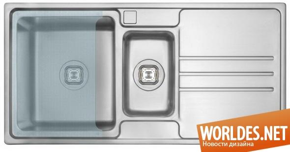дизайн кухни, дизайн раковин для кухни, раковины для кухни, раковина для кухни, многофункциональная раковина для кухни