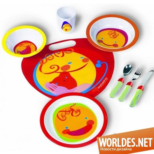 дизайн аксессуаров, дизайн аксессуаров для кухни, дизайн кухонных аксессуаров, дизайн набора блюд для ребенка, кухонный набор для ребенка, блюда для ребенка, красивые блюда, блюда, набор блюд