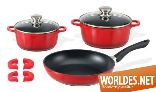 дизайн аксессуаров, дизайн аксессуаров для кухни, дизайн кухонных аксессуаров, дизайн набора кухонной посуды, посуда, посуда для кухни, кухонная посуда, качественная посуда, современная посуда, красивая посуда, термостойкая посуда