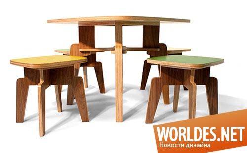 дизайн мебели, дизайн набора мебели, мебель, набор мебели, мебель для детей, набор мебели для детей, современная мебель для детей, деревянная мебель