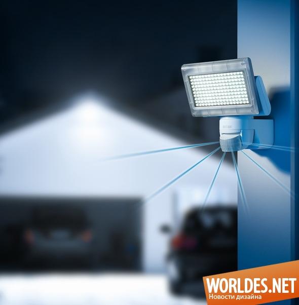 декоративный дизайн, декоративный дизайн освещения, дизайн освещения, освещение, наружное освещение, практическое освещение, современное освещение, освещение с датчиком движения