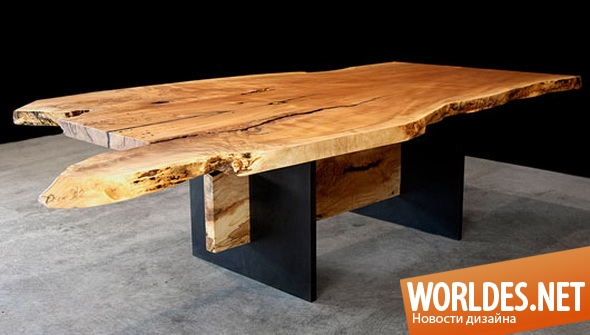 дизайн мебели, дизайн столов, дизайн стола, столы, стол, деревянные столы, столы из цельного дерева, необычные столы, оригинальные столы, столы для столовой, кухонные столы, обеденные столы