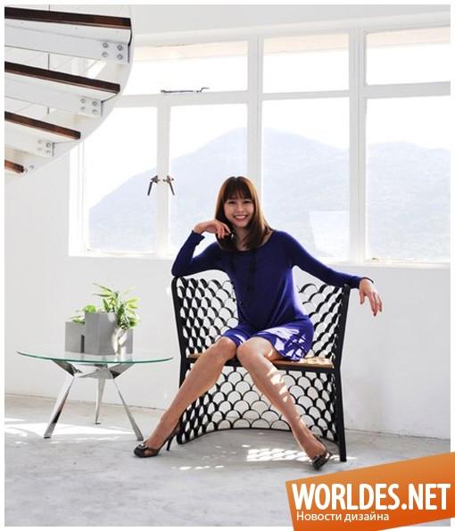 дизайн мебели, дизайн кресел, кресла, необычные кресла, стальные кресла, необычные стальные кресла, красивые кресла, удобные кресла, комфортные кресла, современные кресла