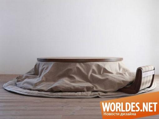 дизайн мебели, дизайн мебели в японском стиле, мебель, низкая мебель, оригинальная мебель, практичная мебель, мебель в японском стиле, низкая мебель в японском стиле