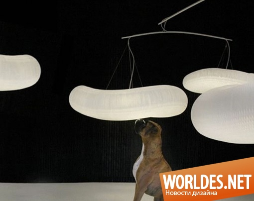 декоративный дизайн, декоративный дизайн светильников, дизайн светильников, светильники, оригинальные светильники, необычные светильники, уникальные светильники, современные светильники, красивые светильники, светильники в виде облака