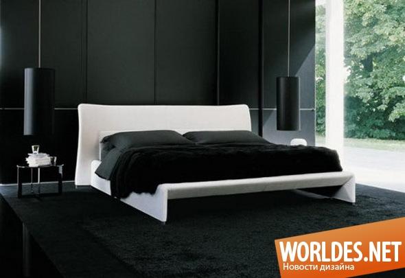 дизайн интерьеров, дизайн интерьера, дизайн интерьера спальни, спальня, оборудование спальни, современная спальня, современные спальни