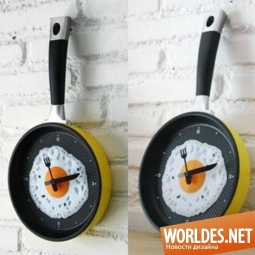 декоративный дизайн, декоративный дизайн часов, дизайн часов, часы, настенные часы, оригинальные часы, часы для кухни, красивые часы, необычные часы, современные часы, яркие часы