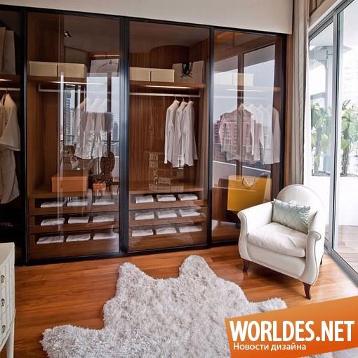дизайн интерьера, дизайн интерьеров, интерьер, интерьер гардеробной, современный интерьер, оригинальный интерьер, светлый интерьер, красивый интерьер