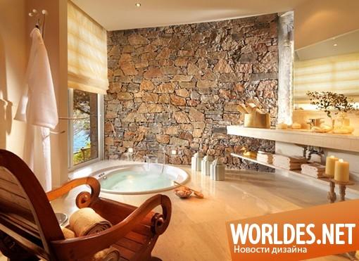 архитектурный дизайн, архитектурный дизайн отеля, дизайн отеля, отель, роскошный отель, отель на острове Крит