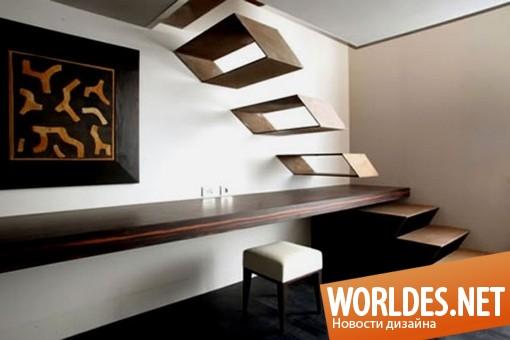 декоративный дизайн, декоративный дизайн лестницы, дизайн лестницы, лестница, современная лестница, оригинальная лестница, необычная лестница, парящая лестница