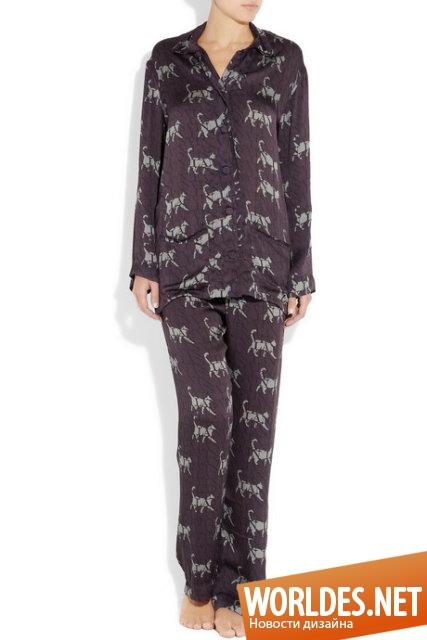 дизайн одежды, дизайн пижамы, пижама, ночная одежда, оригинальная пижама, комфортная пижама, красивая пижама