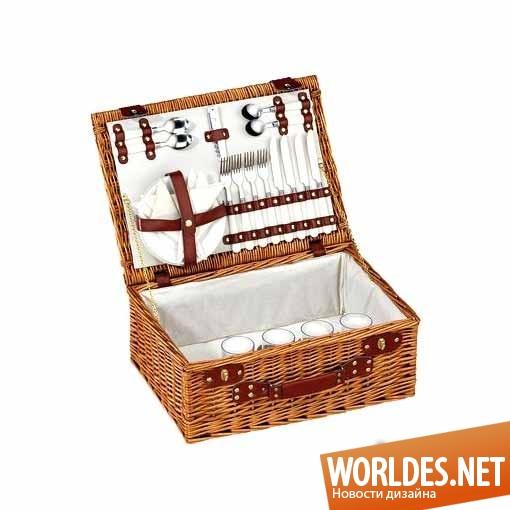 дизайн, дизайн аксессуаров, дизайн аксессуаров для пикника, корзинка для пикника, дизайн корзинки для пикника, плетеная корзинка для пикника,плетеная корзинка для пикника CILIO Lugano