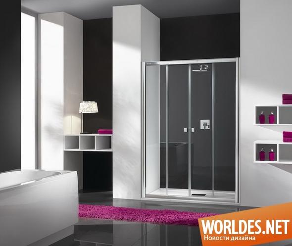 дизайн ванной комнаты, дизайн душевой кабины, ванная комната, современная ванная комната, душевая кабина, плоская душевая кабина, плоские душевые кабины