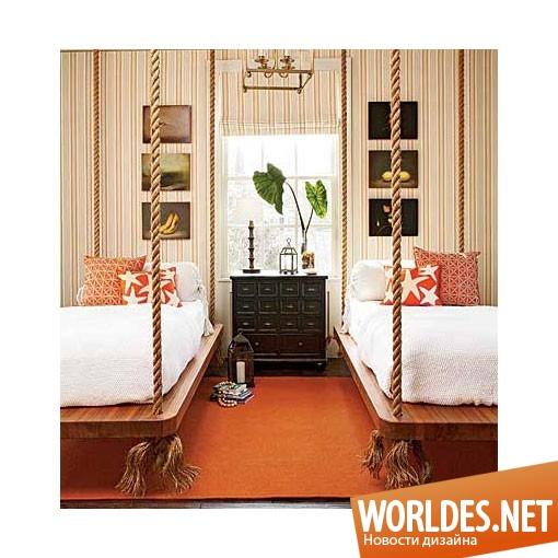 дизайн мебели, дизайн кровати, кровати, кровать, оригинальная кровать, оригинальные кровати, подвесные кровати