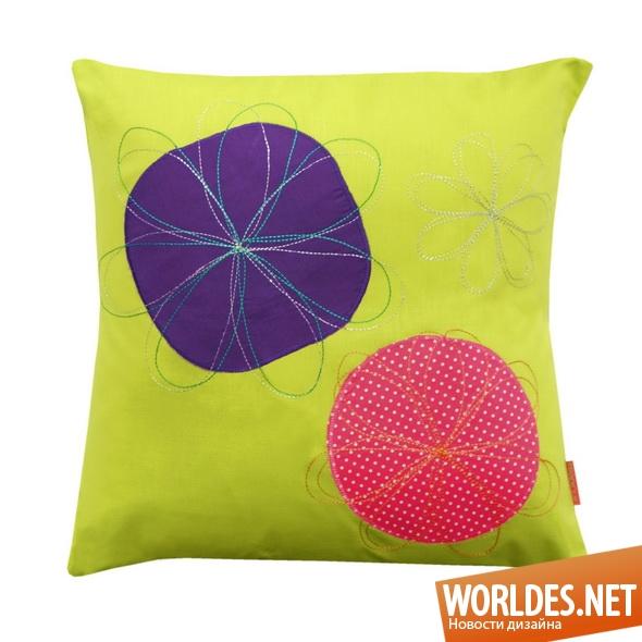 декоративный дизайн, декоративный дизайн подушек, дизайн подушек, подушки, подушки для детей, детские подушки, дизайн детских подушек, оригинальные подушки, интересные подушки