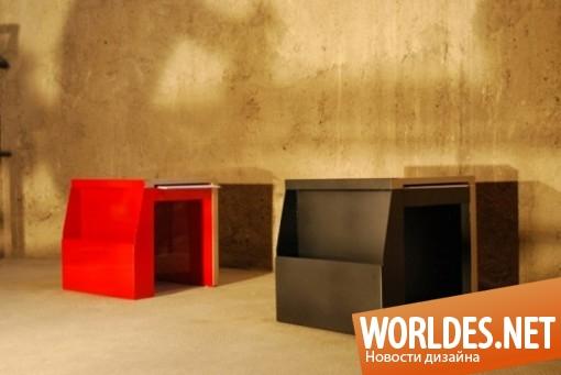 дизайн мебели, дизайн, дизайн кресел, кресла, практические кресла, кресла в современном стиле, практические кресла «Folder»