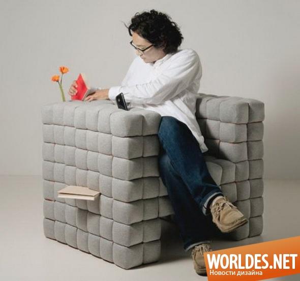 дизайн мебели, дизайн кресла, мебель, современная мебель, мягкая мебель, кресло, современное кресло, практичное кресло