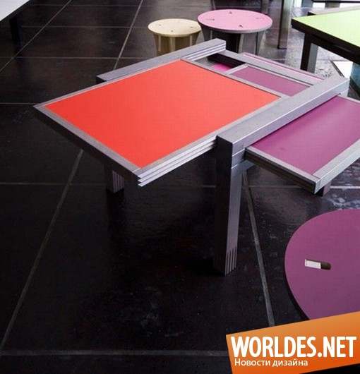 дизайн мебели, дизайн столиков, дизайн журнальных столиков, дизайн кофейных столиков, столик, столик, кофейные столики, практичные кофейные столики, раскладные столики
