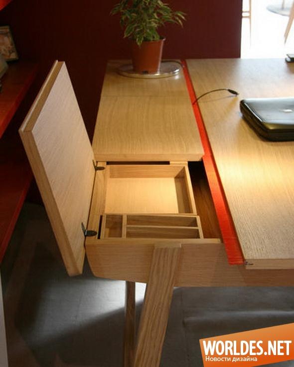 дизайн мебели, дизайн столов, столы, современные столы, практичные столы, компьютерные столы, многофункциональные столы