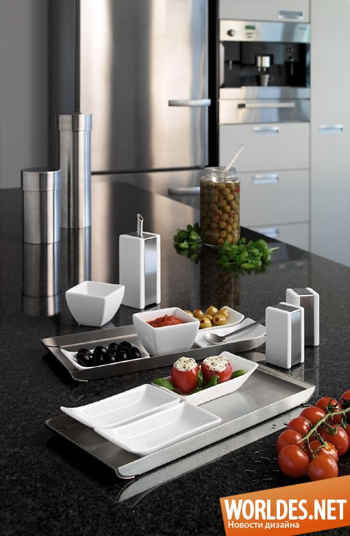 дизайн аксессуаров, дизайн аксессуаров для кухни, дизайн кухонных аксессуаров, дизайн лотка, лоток, прямоугольный лоток, современный лоток, практичный лоток, удобный лоток