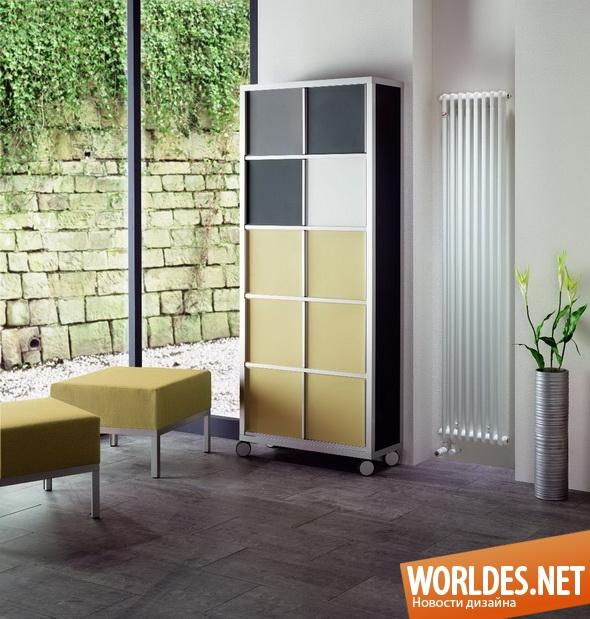 декоративный дизайн, дизайн радиаторов, радиаторы, красивые радиаторы, минималистские радиаторы, радиаторы от компании Zehnder