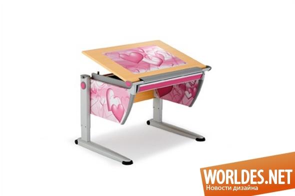 дизайн мебели, дизайн столов, мебель, детская мебель, мебель для детей, стол, столы, столы для детей, регулируемые столы