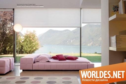 дизайн мебели, дизайн кровати, кровать, оригинальная кровать, современная кровать, необычная кровать, красивая кровать, шикарная кровать, оригинальная кровать, роскошная кровать