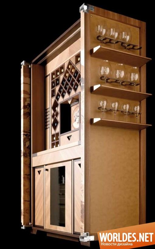 дизайн мебели, дизайн бара, бар, роскошный бар, красивый бар, современный бар, деревянный бар, вместительный бар