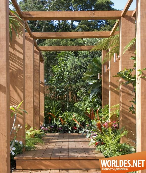 ландшафтный дизайн, дизайн сада, дизайн беседки, сад, домашний сад
