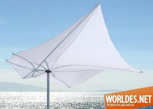 ландшафтный дизайн, дизайн зонтов, дизайн садовых зонтов, зонты, садовые зонты, зонты от солнца