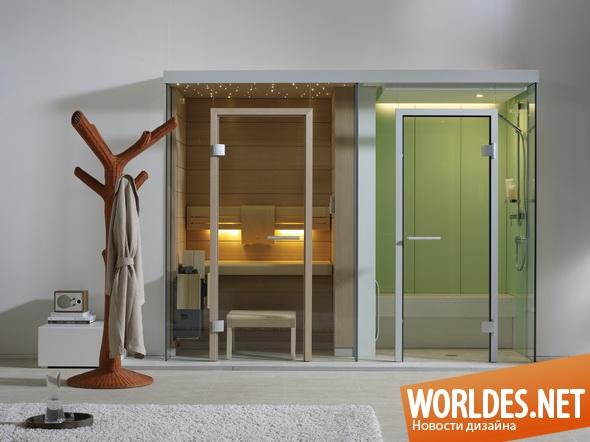 дизайн ванной комнаты, дизайн сауны, дизайн бани, ванная комната, сауна, баня