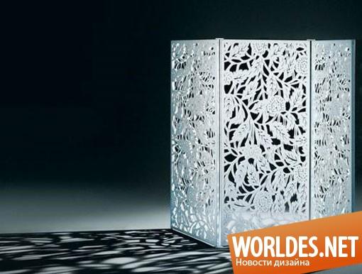 декоративный дизайн, декоративный дизайн ширмы, ширма, современная ширма, декоративная ширма, красивая ширма