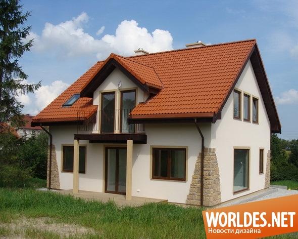 архитектурный дизайн, архитектурный дизайн дома, дизайн дома, дом, скандинавский дом, сборный дом, современный дом, дешевый дом