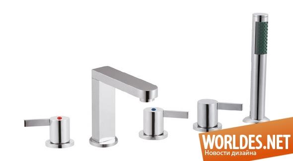 дизайн ванной комнаты, дизайн смесителей для ванной комнаты, дизайн кранов для воды, ванная комната, смесители для ванной комнаты, практичные смесители для ванной комнаты