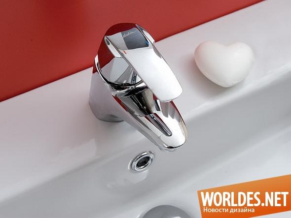 дизайн ванной комнаты, дизайн смесителей для ванной комнаты, смесители, смесители для ванной комнаты, краны, современные смесители, простые смесители
