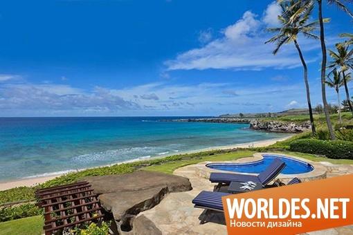 дизайн интерьера, дизайн интерьеров, дизайн интерьера виллы, дизайн интерьера вилла, вилла, дом, современная вилла, вилла на Гавайских островах