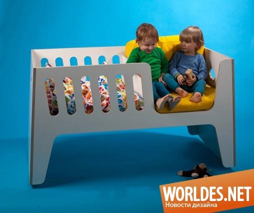 дизайн мебели, дизайн кроватки, дизайн детской кроватки, кроватка, детская кроватка, оригинальная детская кроватка, современная детская кроватка, практичная детская кроватка, функциональная детская кроватка