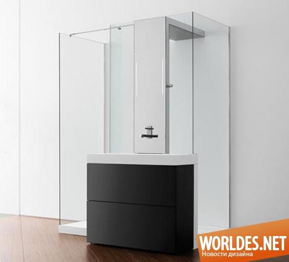 дизайн ванной комнаты, дизайн душевой кабины, ванная комната, современная ванная комната, душевая, душевая кабина, современная душевая кабина