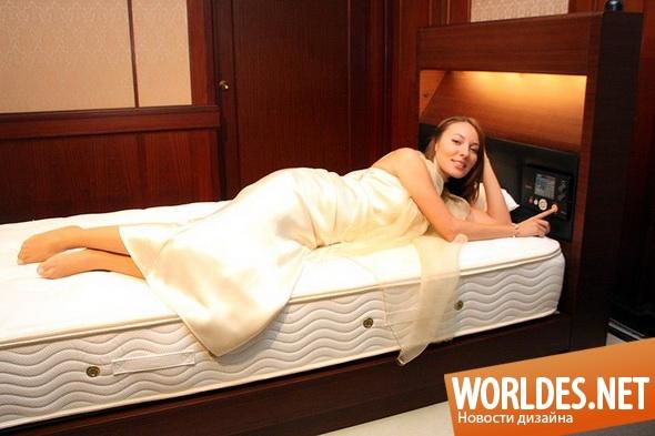 дизайн мебели, дизайн кровати, мебель, современная мебель, современная кровать, кровать