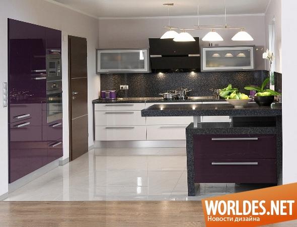 современная кухонная мебель от Kam дизайн кухни