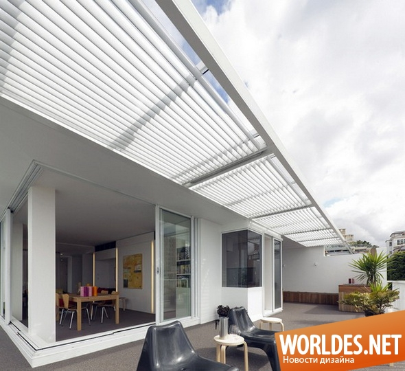 дизайн интерьеров, дизайн террасы, терраса, современная терраса, красивая терраса