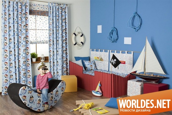 дизайн интерьера, дизайн интерьеров, дизайн интерьера детской комнаты, детская комната, детские комнаты, современные детские комнаты, оригинальные детские комнаты