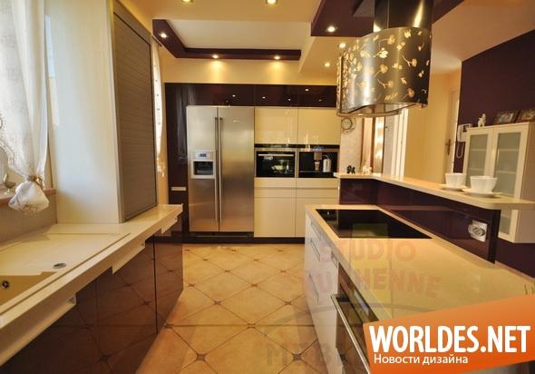 дизайн кухни, дизайн кухонь, кухни, кухня, современные кухни, современная кухня, красивая кухня, модернистская кухня