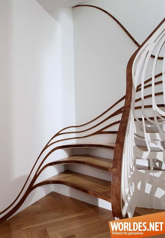 декоративный дизайн, декоративный дизайн лестницы, лестница, лестницы, современные лестницы, оригинальные лестницы