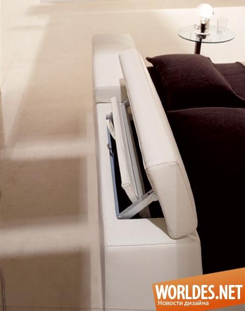 дизайн мебели, дизайн кровати, мебель, современная мебель, мебель для спальни, кровать, кровати, современные кровати, многофункциональные кровати