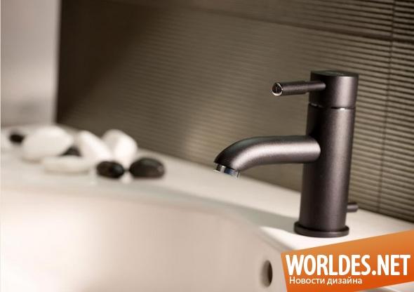 дизайн ванной комнаты, дизайн кранов для ванной комнаты, дизайн смесителей для ванной комнаты, смесители для ванной комнаты, современные смесители, практичные смесители