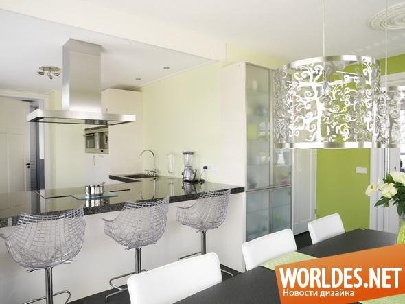 дизайн интерьера, дизайн интерьеров, дизайн столовой, дизайн интерьера столовой, столовая, интерьер столовой, современная столовая, современные столовые