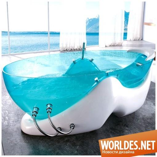 дизайн, дизайн ванной комнаты, дизайн современной ванны, ванна, современная ванна, современные ванны от марки Корра