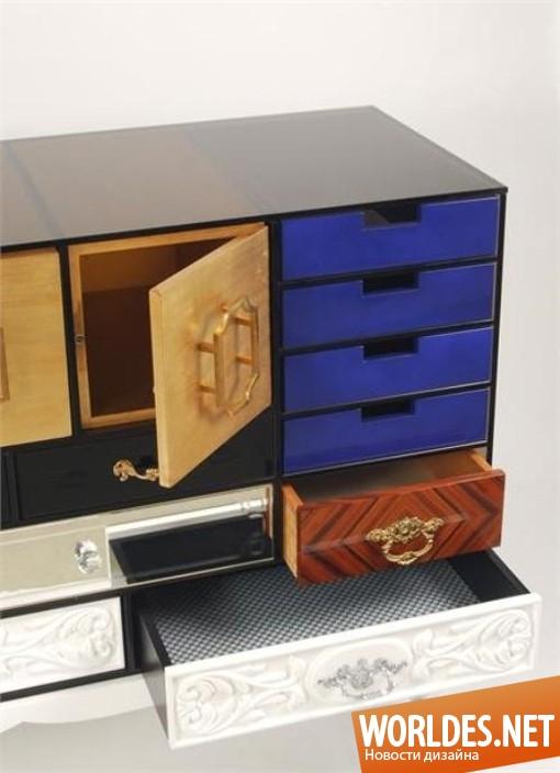 дизайн, дизайн мебели, дизайн комода, дизайн современного комода, комод, красочный комод, современный комод
